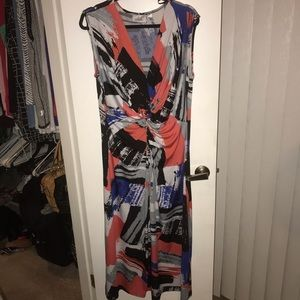 Avenue Twist Knot Maxi Dress. Size 18/20